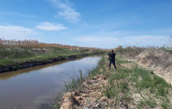 Отбор проб сточной воды специалистами филиала ЦЛАТИ по Волгоградской области.