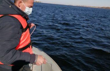 Отбор проб специалистами филиала ЦЛАТИ по Волгоградской области в рамках реализации отдельных мероприятий приоритетного направления «Сохранение и предотвращение загрязнения реки Волга».